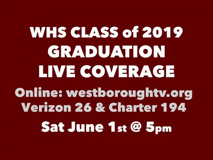WHS Graduation LIVE at 5!