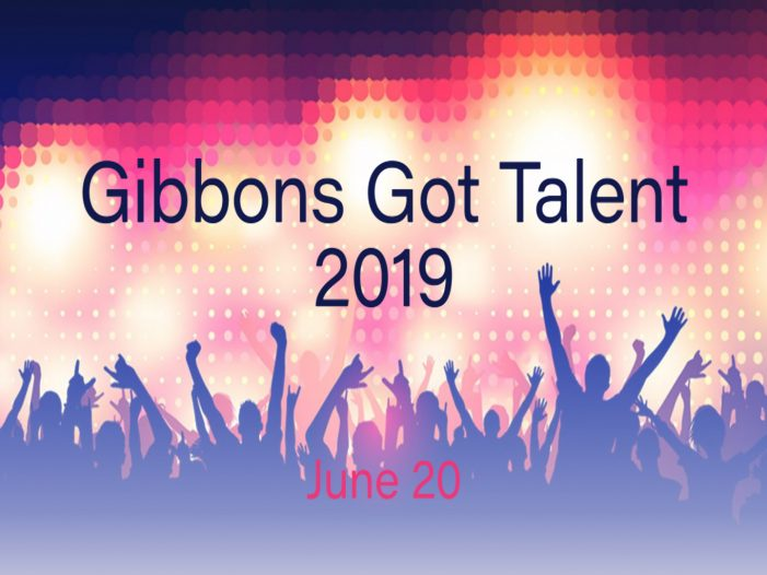 Gibbons Got Talent 2019