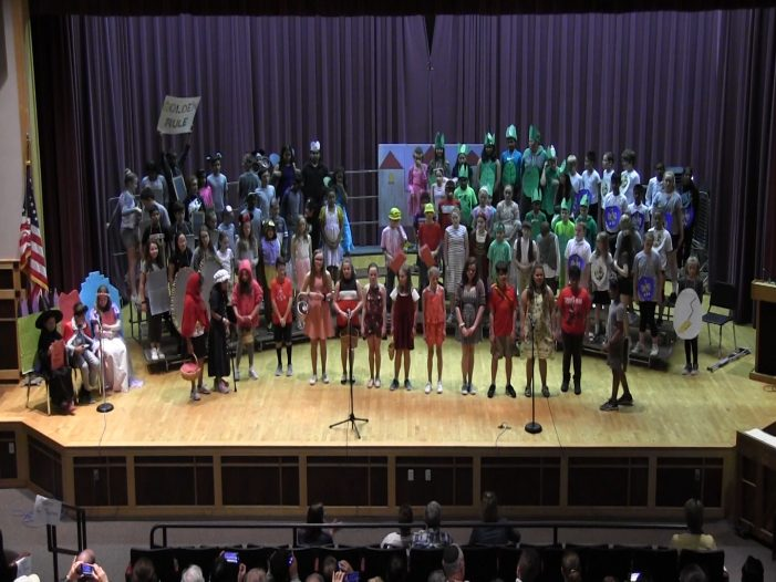 """""""Character Matters!"""" Put on by 5th Grade Panthers"""