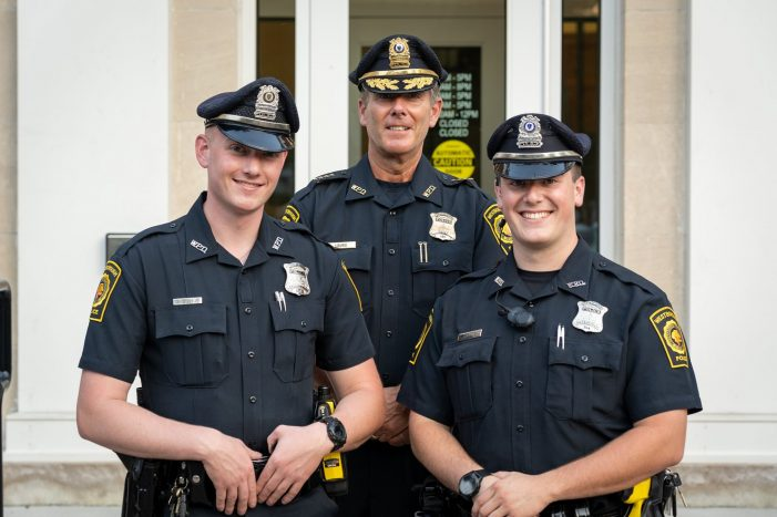 WPD Welcomes New Officers and Jail Diversion Program!