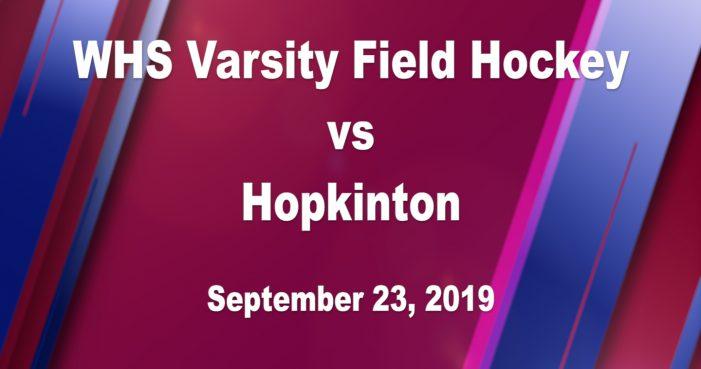 Rangers Field Hockey vs Hopkinton