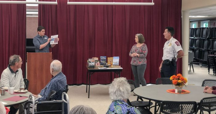 Breakfast with the Chief – Westborough Public Library – October 2019