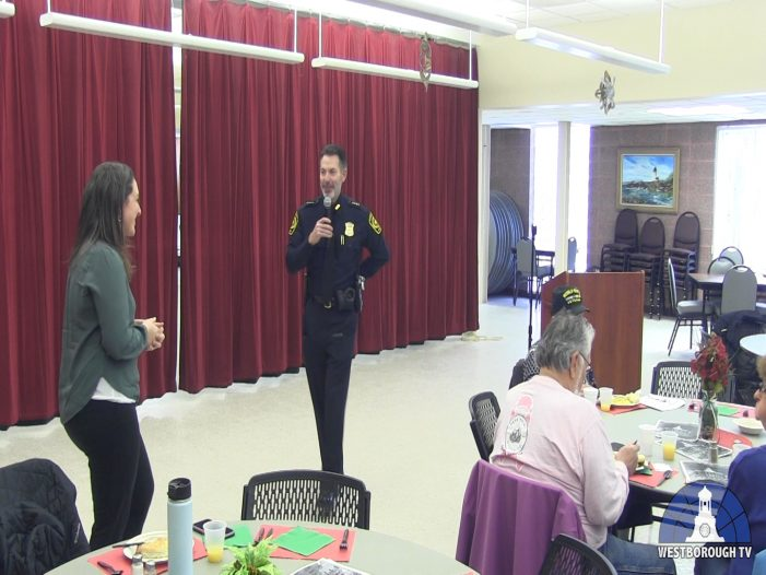 Breakfast with the Chief – Town Manager