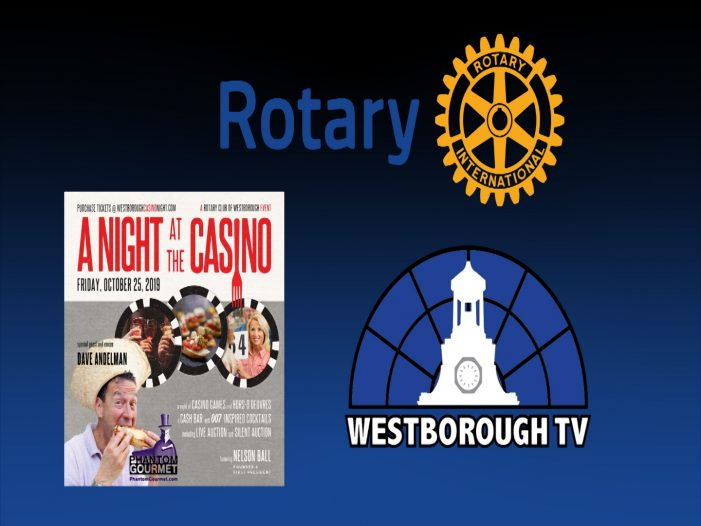 Rotary Club Celebrates 50 years with Casino Night!