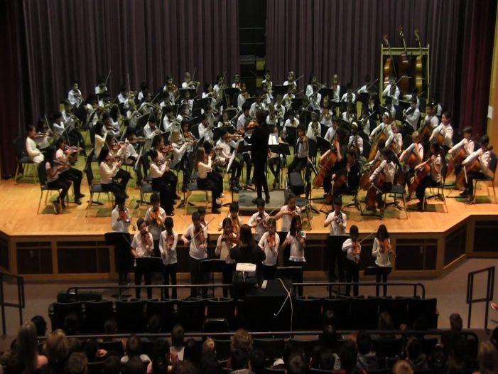 Mill Pond Fourth Grade Winter Orchestra Concert