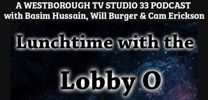Podcast: Lunchtime with the Lobby O – Episodes 1 & 2