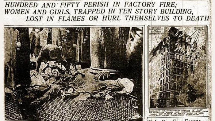 Lecture: Impact of 1911 Triangle Shirtwaist Factory Fire