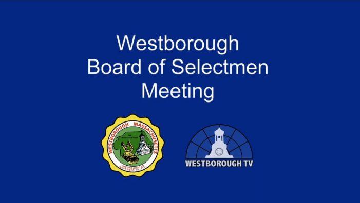 LIVE Tues 9/22 @5:45pm Board of Selectmen