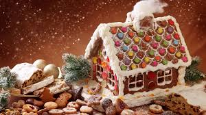 LIVE Gingerbread House Building!
