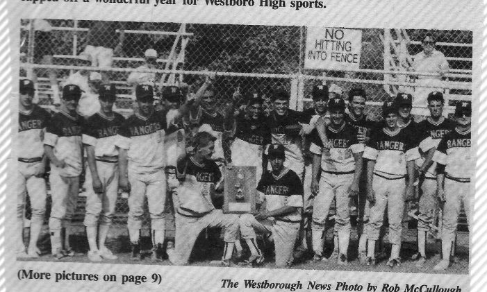On The Sidelines – Rangers Baseball '91