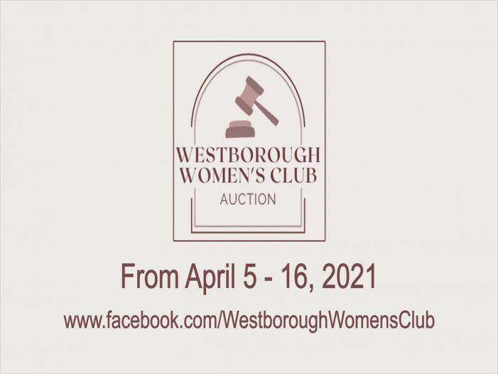 Westborough Women's Club 1st Online Auction!