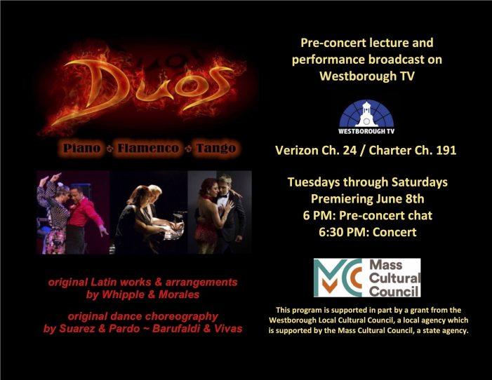DUOS – Piano / Flamenco / Tango! Pre-Concert Lecture – 6/2 @ 6pm!