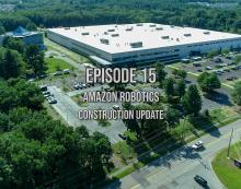 What's Up Westborough?  Ep 15 Amazon Robotics Construction Update