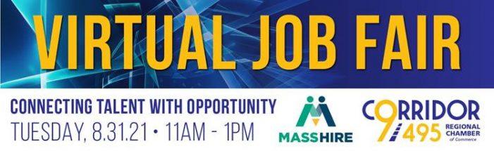 Virtual Job Fair – 8/31/21