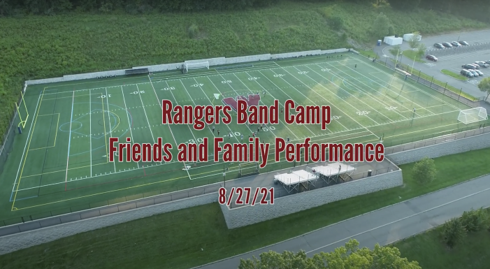 Rangers Marching Band – Band Camp Friends & Family Performance