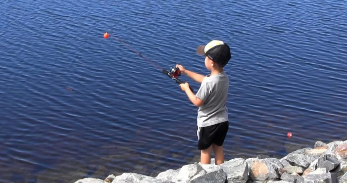 Family Fun at Civic Club Fishing Challenge 2021!