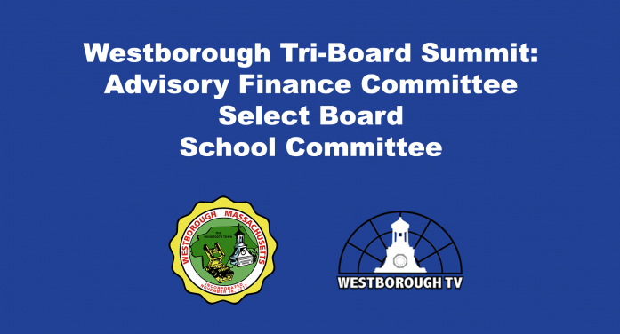 Select Board, Advisory Finance Committee and School Committee Tri-Board Meeting LIVE